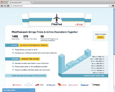 Pilot Pool Airline Recruiting Tool